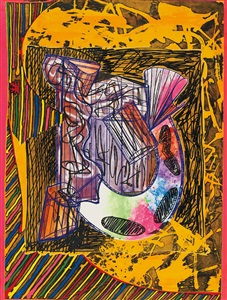 artwork by frank stella