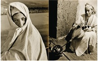 femmes marocaines (5 works) by bernard rouget