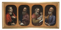 gli evangelisti (4 works in 1 frame) by cosimo dadi