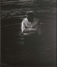 self portrait in water by robert stivers