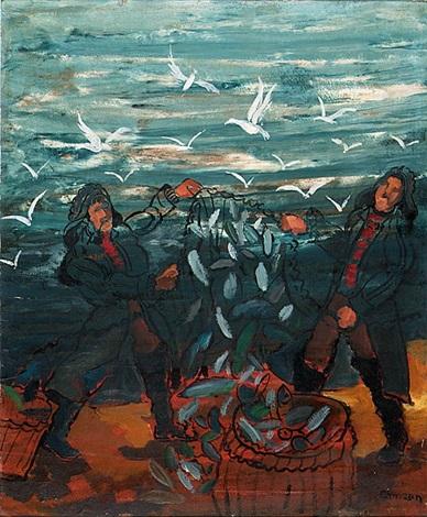 heimkehr vom fischfang stralsund by heinrich ehmsen