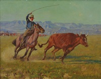 roping the bull by richard lorenz