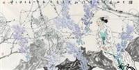 国画 (painting) by liang wenbo