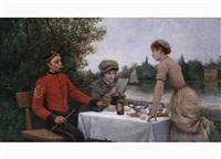 im gartenrestaurant by maurice poirson