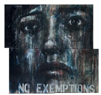 no exemptions (triptych) by guy denning