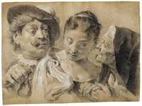 the procuress by giovanni battista piazzetta