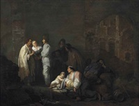 the fortune teller by willem de poorter
