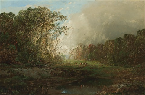 approaching storm by william louis sonntag