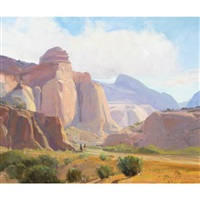capitol reef by g. russell case