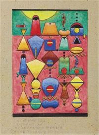 xi min diva (la abstracta) by alejandro xul solar