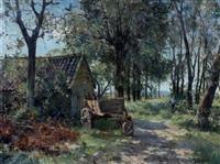 boerenerf in de zon by gerard altmann