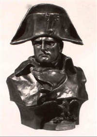 bust of napoleon by roland colombo-grange