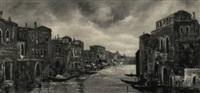 venetian harbor by valerio