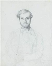 portrait de monsieur chomel by rudolf w. a. lehmann
