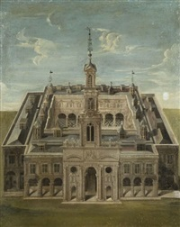 avue d'un palais anglais by anglo-flemish school (17)