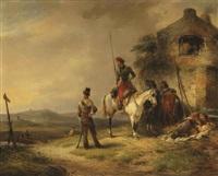 kozacs from the tsarist army by joseph jodocus moerenhout