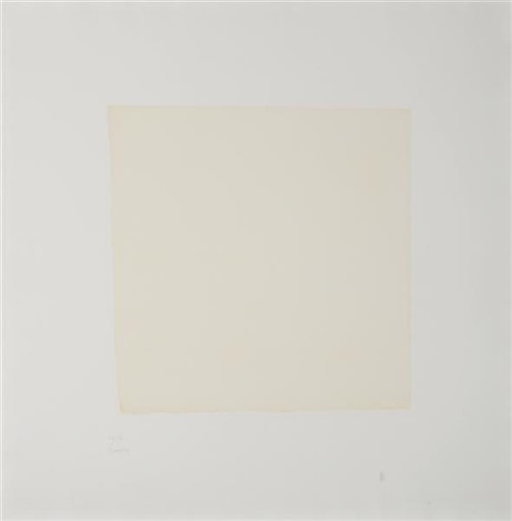 untitled from seven aquatints portfolio by robert ryman