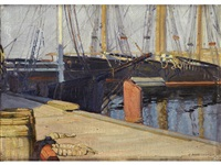 harbor by ernest martin hennings