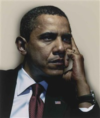 barack obama ii by nadav kander