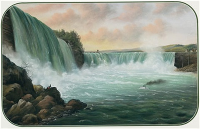 niagara falls by alfred worsley holdstock