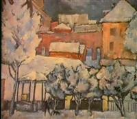 une cour en hiver by farkhat sabirzyanov