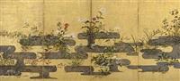 autumn grasses by japanese school-rimpa (17)