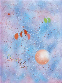 cosmos en f?te, novembre n.1 (festive cosmos, november n.1, 2000) by rhee seund ja