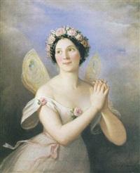 la ballerina fanny cerrito by natale schiavoni