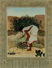 santhal woman by sushil sen
