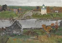 old ladoga by nikolai efimovich timkov