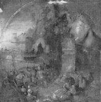 the temptation of a female saint by jan mandijn