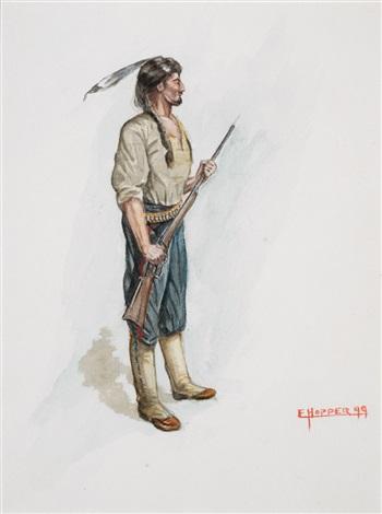 a scout by edward hopper