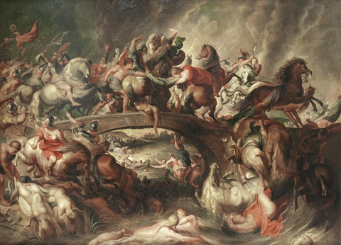 the battle of the amazons by sir peter paul rubens