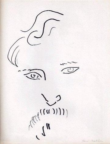 portrait de melchers by henri matisse