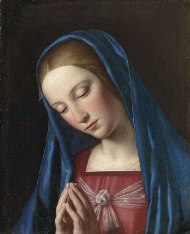 the madonna in prayer by giovanni battista salvi il sassoferrato