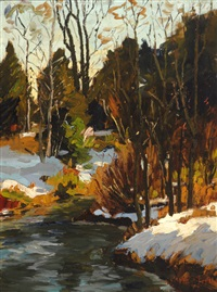 the first snow by paul barnard earle
