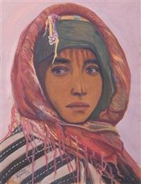 jeune fille marocaine by abdelaziz bufrakech