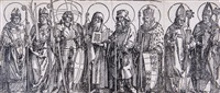 the patron saints of austria by albrecht dürer