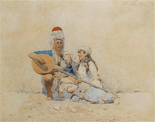 the serenade, constantinople by silvestro valeri