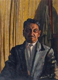 portrait d'un monsieur algérien by jurg kreienbuhl