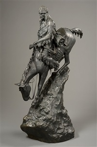 the mountain man by frederic remington