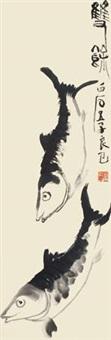 双余 立轴 水墨纸本 by qi liangsi