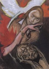 scène symboliste by jean georges cornelius