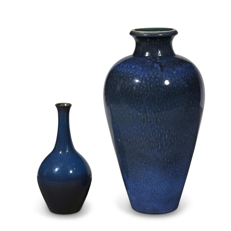 Two Norman Wilson For Wedgwood Vases By Norman Badgley Wilson On Artnet