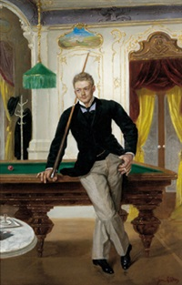 junger billiardspieler by john quincy adams
