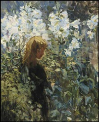 easter lilies by helen galloway mcnicoll