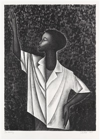 waving by elizabeth catlett