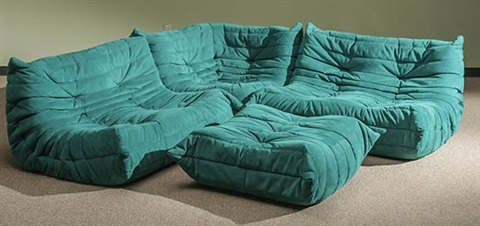 Michel Ducaroy Togo Four Piece Sectional Sofa By Michel Ducaroy On