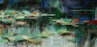 莲潭幽静 (lotus pond) by xu ming
