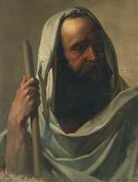 portrait of an apostle by otto rethel